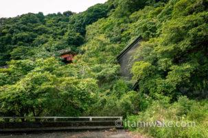 伊豆の廃ループ橋「赤沢八幡野連絡橋」へ。放置された挙句崩落をキメた超危険廃墟
