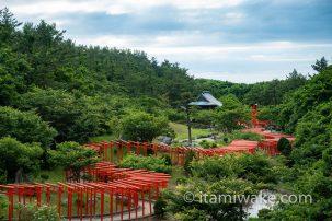 高山稲荷神社で千本鳥居を見る 青森県のイケてるパワースポット