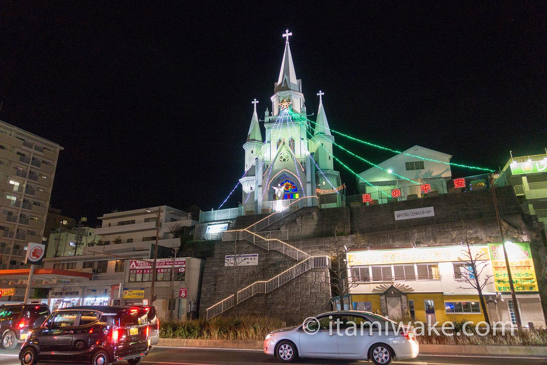 長崎駅近くにあった教会