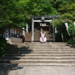 桃太郎生誕の地と言えばもちろん愛知県犬山市!みんな知ってるよね?桃太郎神社いてきた