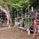桃太郎神社修復活動に行ってきた!愛知県犬山市のローカルB級スポットが賑わった!