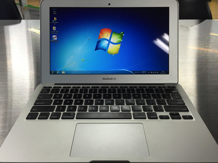 MacBook_AirでWindows