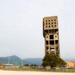 憧れの志免炭鉱観光!巨大な櫓が街中に立つ非日常感がたまらない!